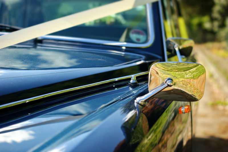 Car Transportation Mode Of Transportation Motor Vehicle Land Vehicle Focus On Foreground Retro Styled No People Day Vintage Car Close-up Reflection Glass - Material Metal Nature Sunlight Outdoors Selective Focus Windshield Silver Colored Chrome Sashalmi Oldschool