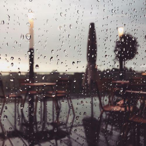 It's a rainy