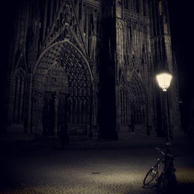 Church Strasbourg Blackandwhite Cathedral