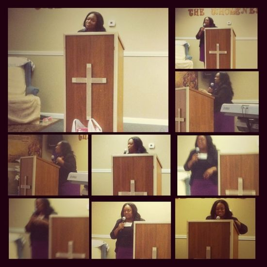 My Role Model / Spiritual Mother / Ass.pastor Kimberly Taylor :)