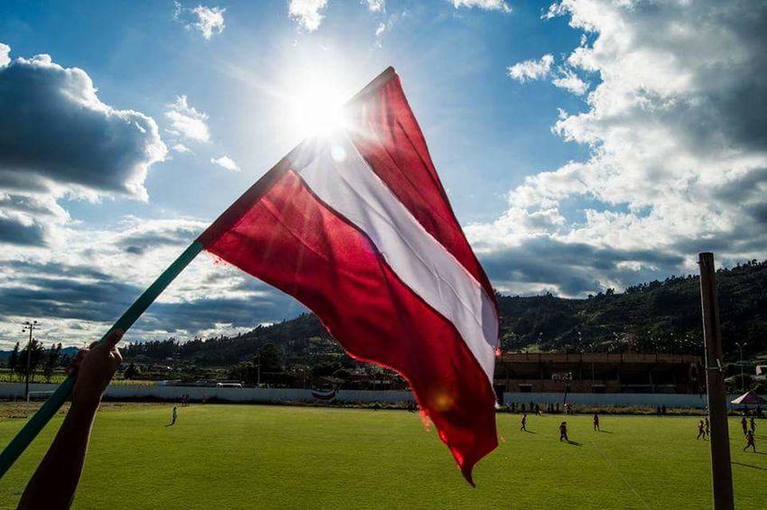 Flag Red No People Cultures Day Bandera Roja Dia Pasión  Hincha Holigan