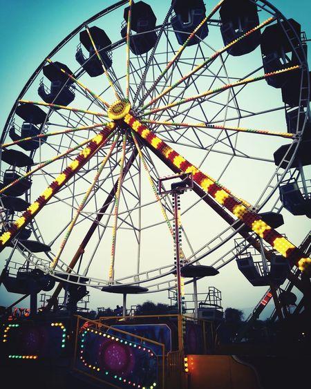 Arts Culture And Entertainment Amusement Park Ferris Wheel Amusement Park Ride Low Angle View No People Day Outdoors Sky