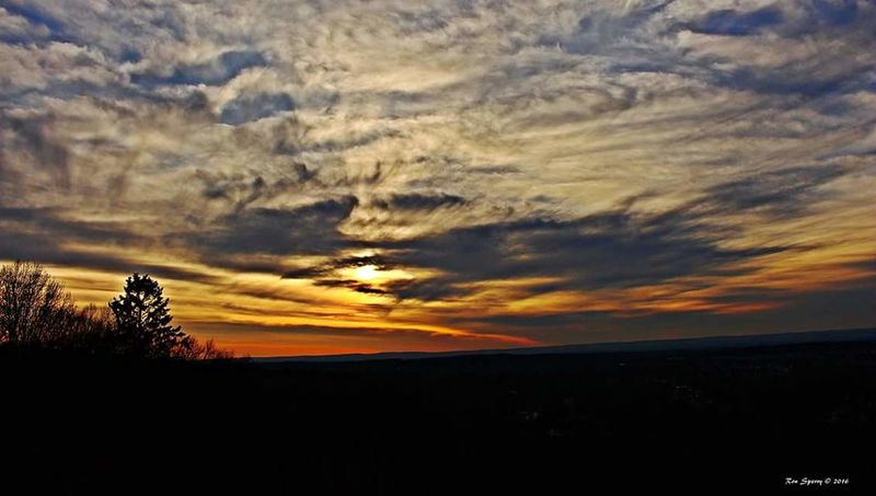 Sunset Lovers Sunset And Clouds  Sunset Silhouettes Sunsetporn Sunset Vernon Connecticut
