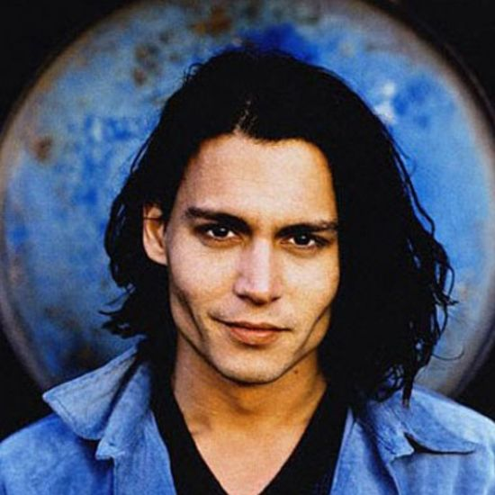 Johnny Depp Wonderful Beautiful Self Portrait