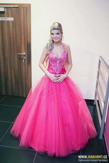 Prom Dress Princess Beautiful Beauty Smile Girl Pink Love Me Myself