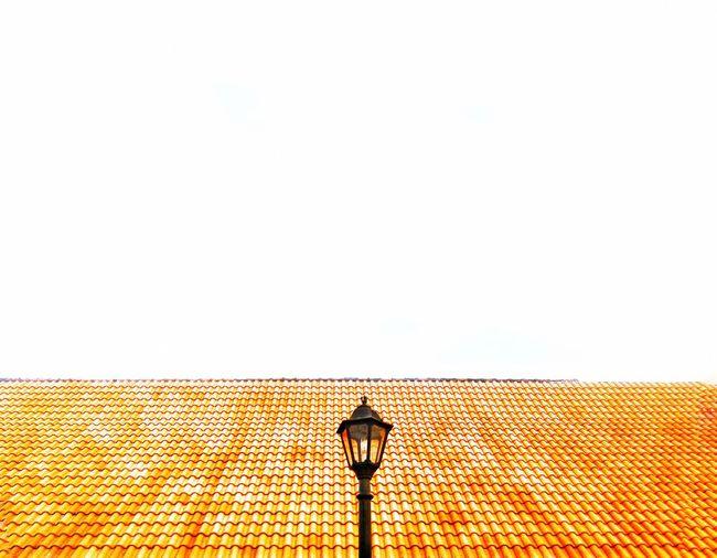 Lamppost Orange Macx Mobile Photography Photooftheday Minimal