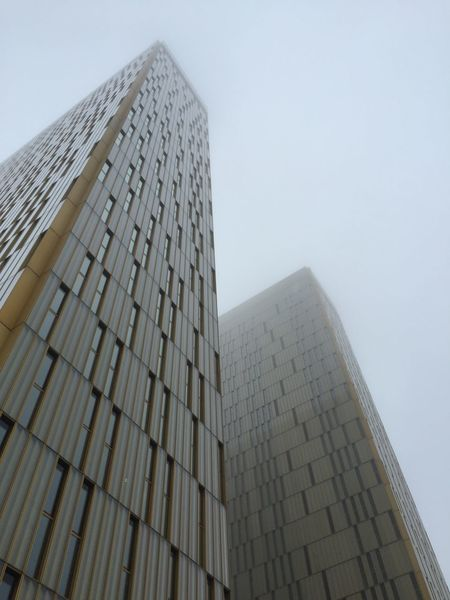 European court of justice in the fog Luxembourg Fog Building Highrise Eu Europe European Union Luxembourg Streetphotography Office Building Government Government Building