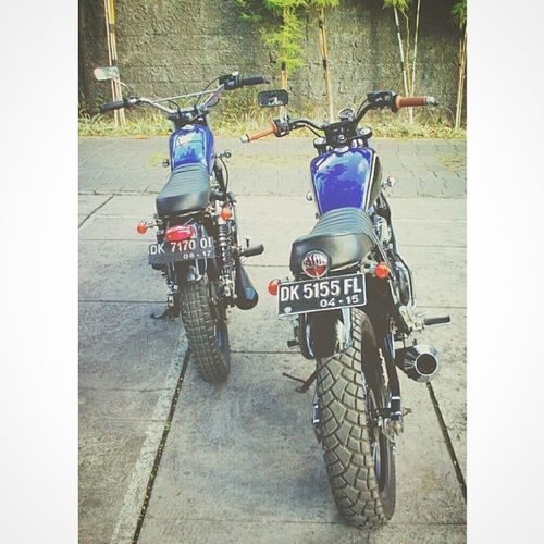 Twin Scrambler Motorcycles Honda GL200 & Yamaha 225 Followme Followback like4like follow4follow hipster beautiful HashTags instadaily summer fashion love followbackteam photography me pleasefollow travel follow tagsforlikes followalways teamfollowback vscocam followall vscogood following instamood bali swag