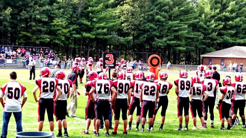 Portrait Of America American Football Highschool Winners Watertown Watertown Highschool Team америка Бостон