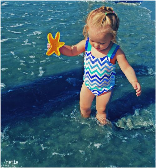 Colour Of Life Color Palette Summer Bluehues Granddaughter Beach Eyeemphoto