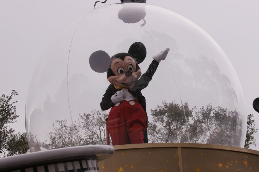Parade Float Mickey Mouse