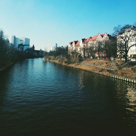 Taking Photos Walking Around Germany Berlin Westhafen