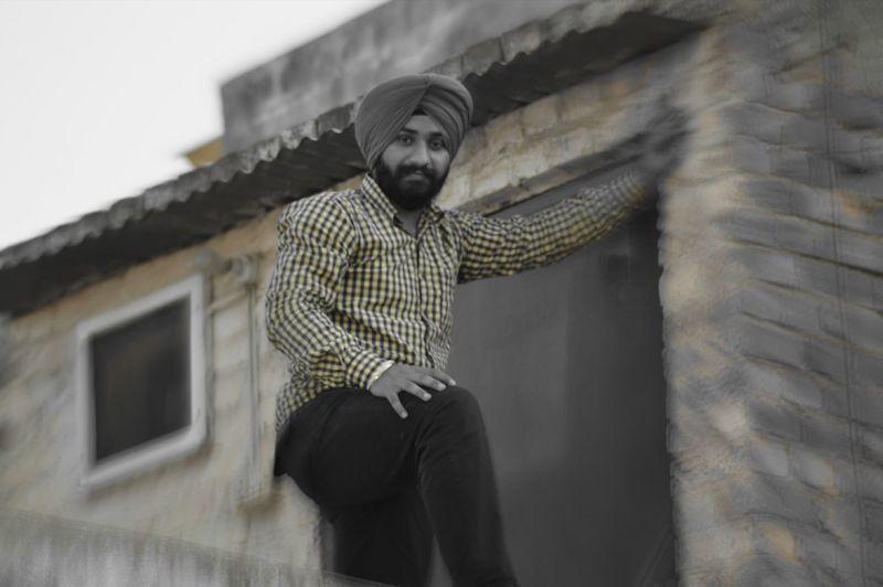 Yellow Sardar Ji Feeling Top Of The World First Eyeem Photo