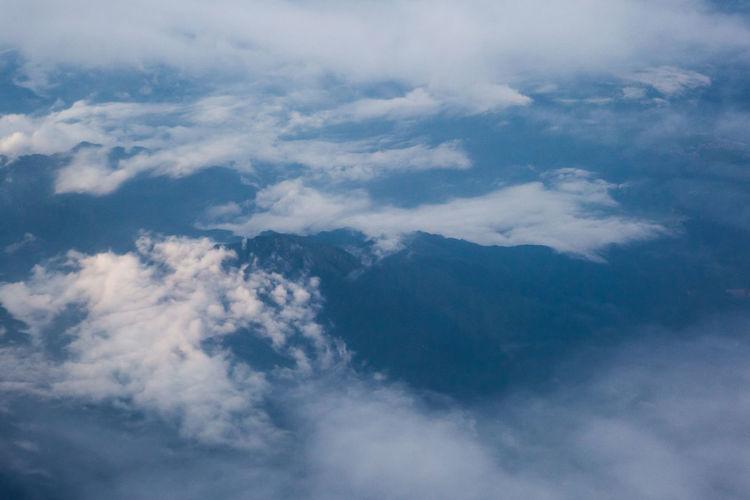 Full frame shot of blue sky