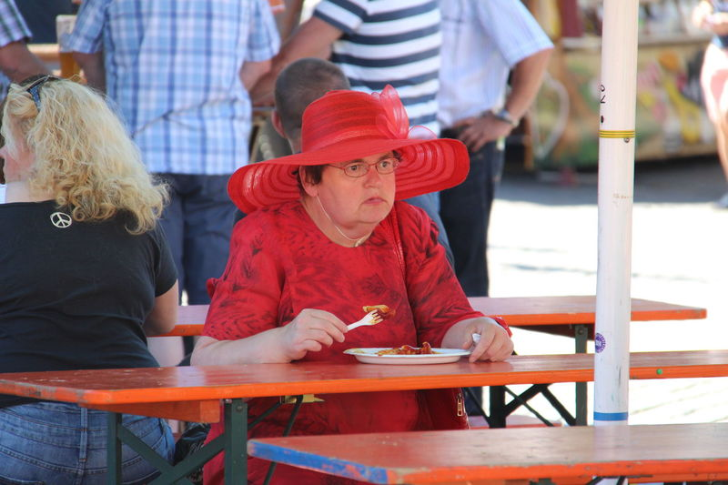Peoplephotography Red Colours Frenchfries Redhat