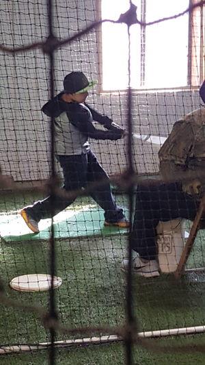 Getting ready for the MLB Baseball Life Future Cardinal Dedication Enjoying Life