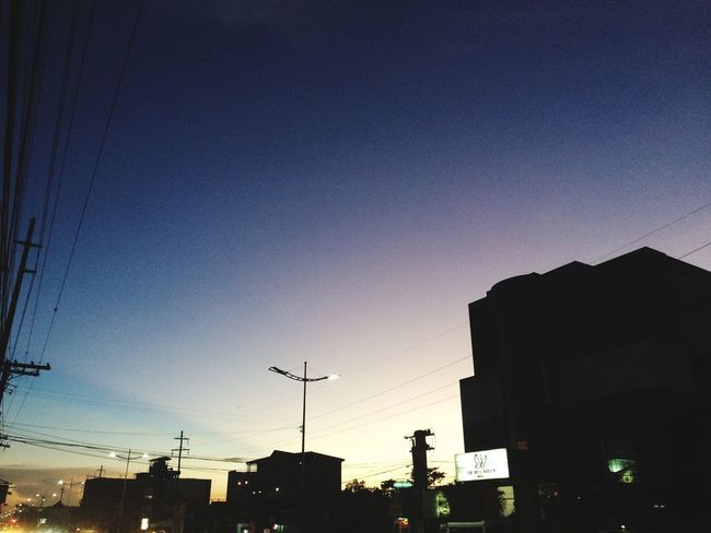 Sky Built Structure Silhouette Architecture Building Exterior Sunset Low Angle View
