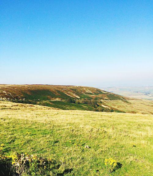 Hills above marsden