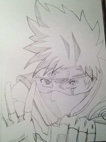 Zeichnung  Naruto Itachi Itachi Uchiha Bleistift
