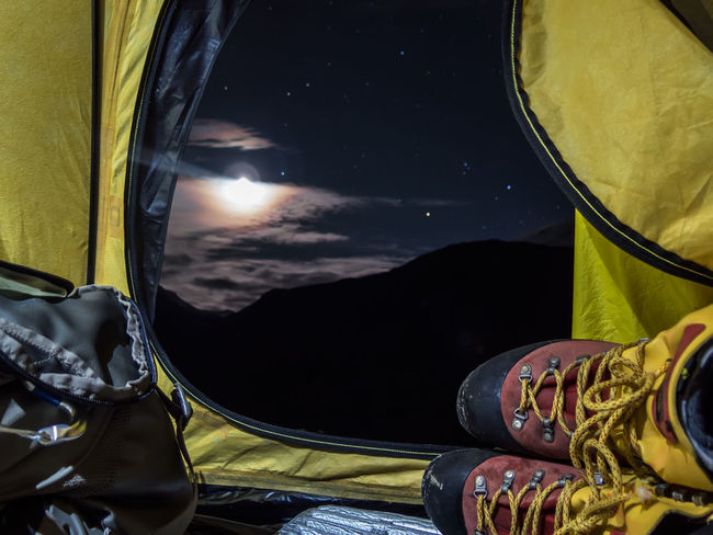Mountaineering Mountains Norway Tent