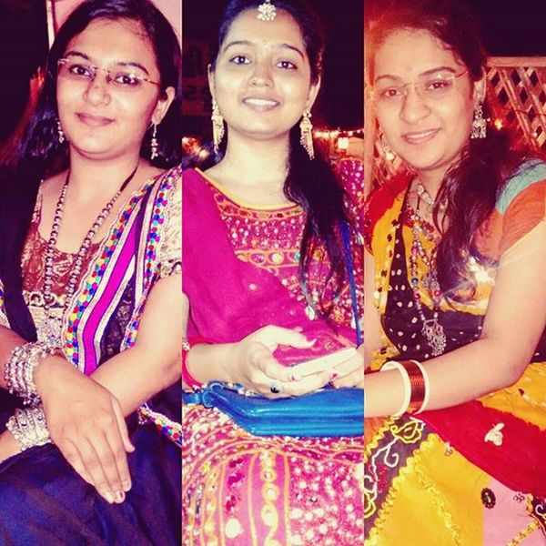Picoftheday Best_music Garba_nyts Blueday Awaiting_fest Fun with Family MuchNeeded Festival Gujju LOL Traditionalwear Ankfie Ilovethisfestival Garbaselfie Specks Awosomecrowd Indiandance Bollywooddancers Indianculture Danceduo Danceperformance Bollywoodshow Indiandress Bollywooddance dancevid traditionaldress indianfashion indian