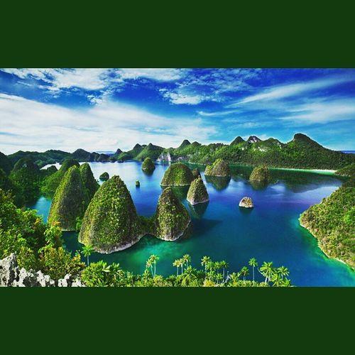 Ada di Negara sendiri, tapi perlu biaya yang besar untuk ke tempat ini melebihi biaya berwisata di Negara tetangga.😲😖 Semoga kedepannya bisa dipermudah dan murah biayanya. 😁 Rajaampatisland Papua INDONESIA
