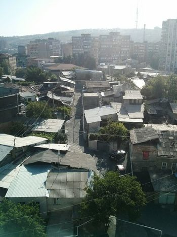 Roofs of Yerevan. · Armenia Buildings Rooftops Cityscape Urban Landscape Overview Lookout