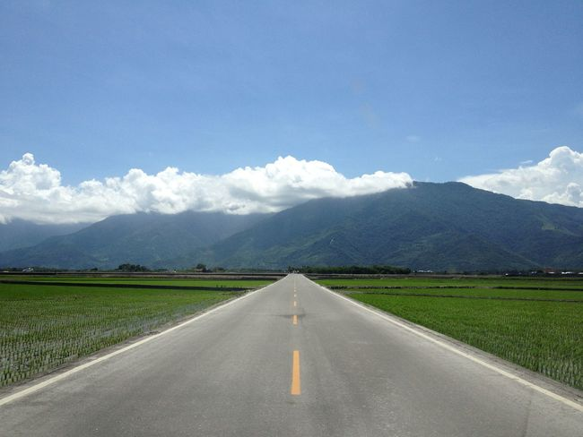 Country Road Empty Road IPhone Road Road Trip Roadtrip Taidong, Taiwan View