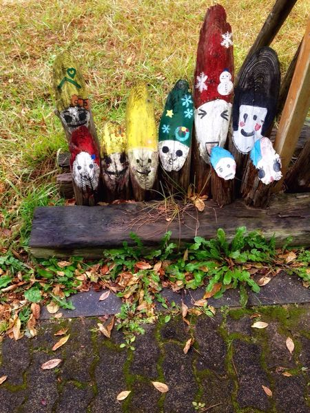 Roadside Attractions Human Representation Wooden Art No People Grass Outdoors Day Scarecrow Japan Photography