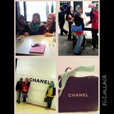 Today i had a very joyful day, Business meeting and setting Shanghai project for my partner with my Mentor @hanis. Then later, Hanis brought us to Chanel. Weee.. Terbang tinggiiii! And guess what?! First Chanel from me! Alhamdulillah.. Business Meeting Hanishaizi Chanel shopping klcc coaching linazahrahdotcom piccollage fashion beautiful