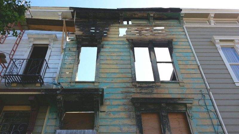Bayview San Francisco Burned Burned Out Victorian Victorian Architecture Houses