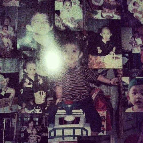 when i was just a little kid Kikilala haha.. anyway sorry bout the flash. ?