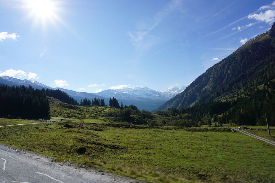 beautiful view of the alps of austria Austria Photos Austria Mountains Austria ❤ Austrian Alps Austrian Nature Autumn Cloudy Green Road Sunnyday☀️ Austrianphotographers Beauty In Nature Blue Sky Day Grass Landscape Mountain Nature No People Outdoors Scenics Sky Snowcapped Mountain Sunlight Tranquility An Eye For Travel The Great Outdoors - 2018 EyeEm Awards The Traveler - 2018 EyeEm Awards