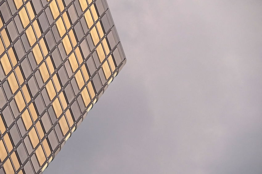 Façade Abstract Architecture Building Exterior Built Structure Office Building Exterior Pattern Simplicity Sky Skyscraper The Architect - 2018 EyeEm Awards