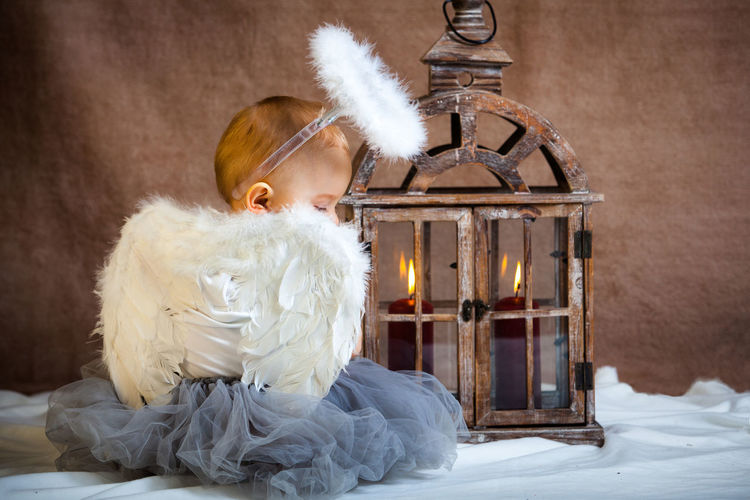 Angel Baby Baby Angel Candellight Candels Children Christmas Christmas Angel Lantern NewBorn Photography Wings
