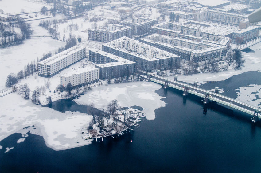 Aerial Photography Aerial Shot Berlin Photography City Discover The World Flight Flying From My Point Of View Ice Leaving On A Jetplane Perspective Snow Tegel Airport Travel Urban Landscape View Winter World From Above