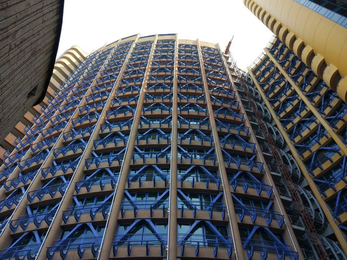 Architecture Built Structure Building Exterior Low Angle View Building Modern Sky City No People Day Pattern Office Building Exterior Tall - High Travel Destinations Tower Nature Office Skyscraper Outdoors Blue