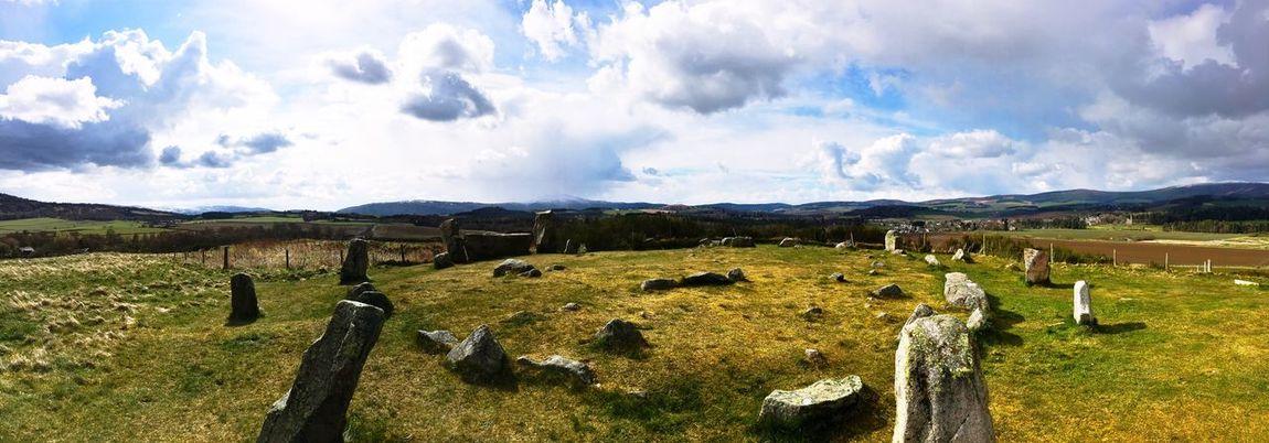 Stone - Object Stone Circle Tarland Scotland