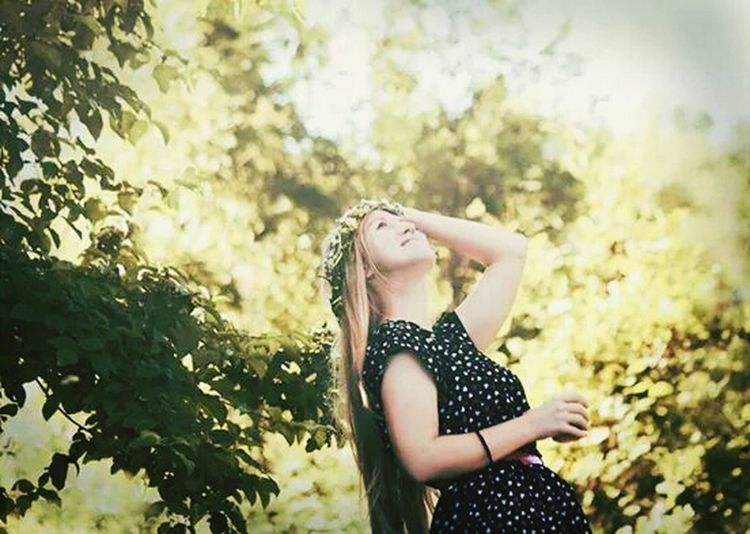 Feeling the nature... Enjoying Life