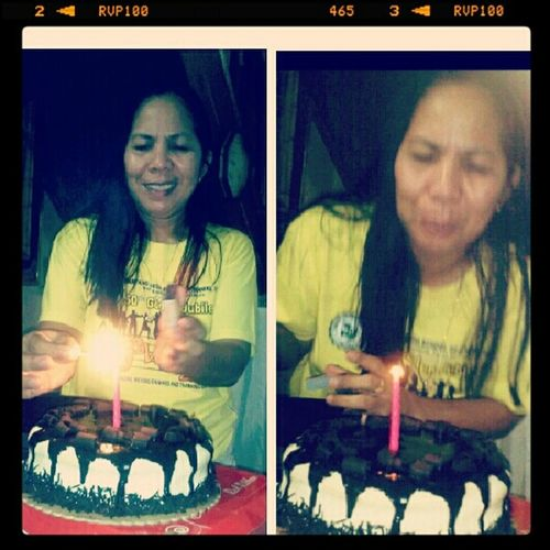 Belated post ma! Happy Birthday and I loveyou! :)