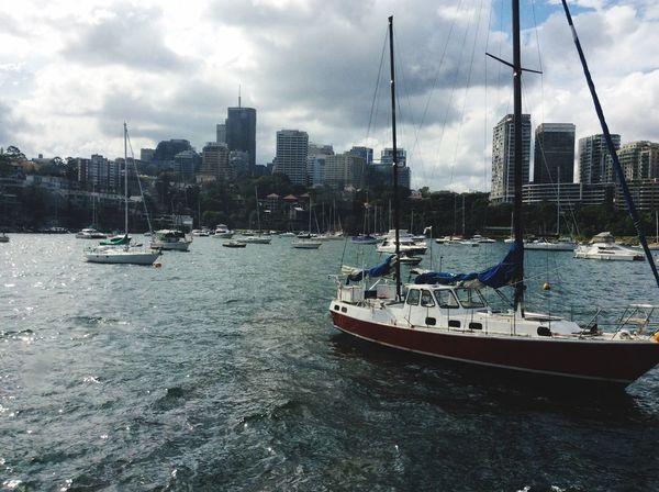 Boat 2. 🚤🚣⚓️⛵️ Sharissegaiyer EyeEmNewHere Nautical Vessel Water Boat Transportation Sky City Waterfront Architecture Yacht EyeEmNewHere