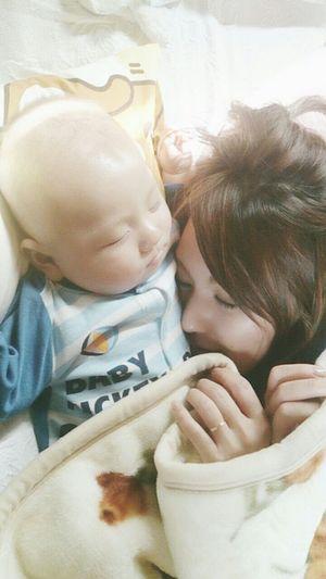 3months 景登 Love Baby Boy My Baby 息子 Eito Baby ❤ Mam&baby Sleeping