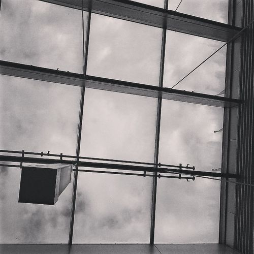 Architectural Spaces, John Jay College of Criminal Justice, Manhattan CUNY College Black And White