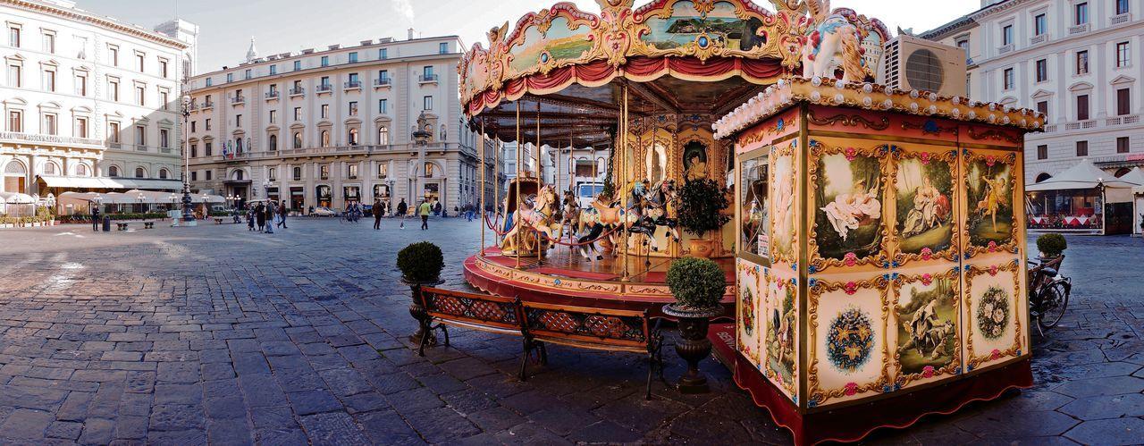 Carousel in a
