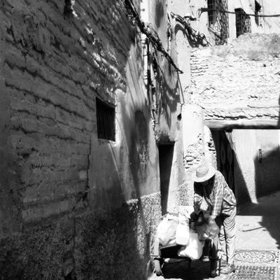 In the Medina Morocco Architecture Built Structure Day Building Exterior Outdoors No People