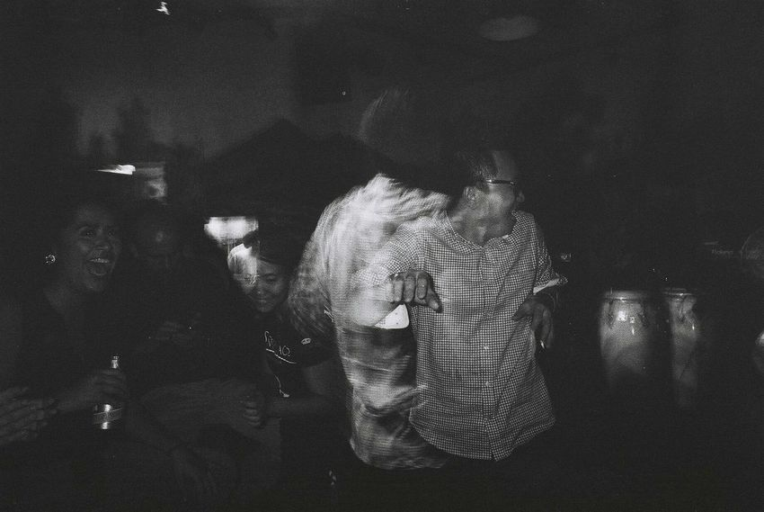 Party Time! Dancing The Moment - 2015 EyeEm Awards The Street Photographer - 2015 EyeEm Awards The Fan Club Cmmaung.me Cmmaung Flash Photography Film Ricoh Gr1v