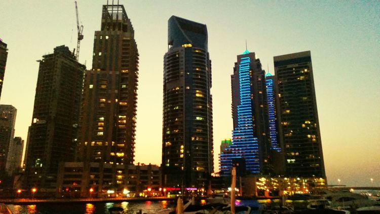 Dubai Dubai Marina Skyline Jumairah First Eyeem Photo