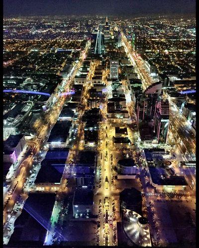 Kingdom Tower Skybridge Panorama Nightphotography Cityscapes Riyadh Urban Landscape City Lights Saudi Arabia Amazing View