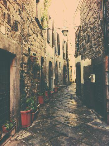 Viterbo Borgo Antico Vicoli Medioeval Cities Italy Borgo Vicolo Medioevo