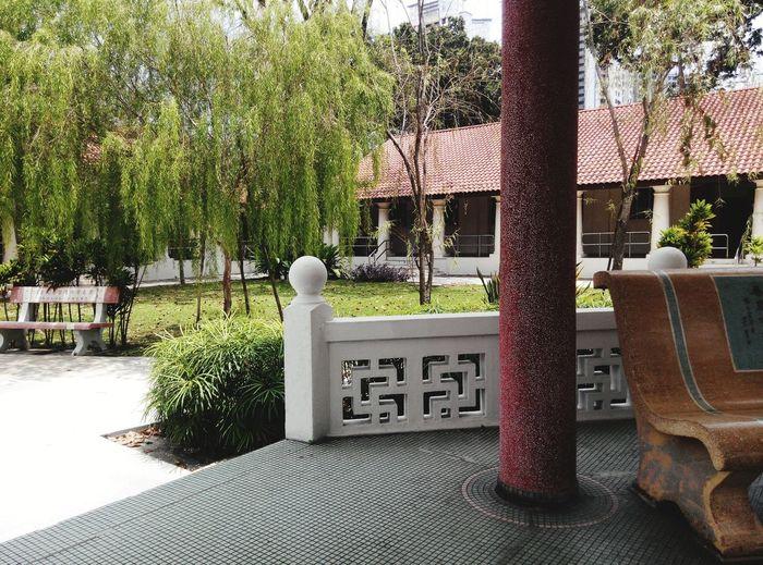 Chinese Garden Cantonese Sunny Day